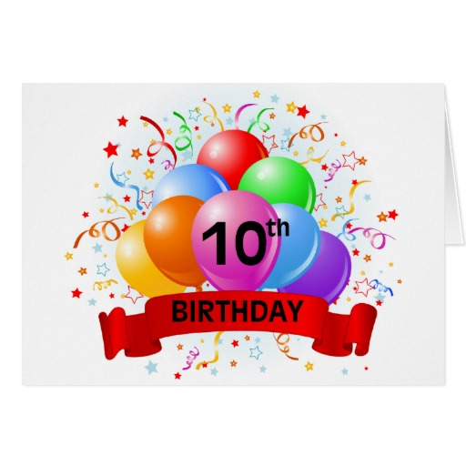 Sayings For 10th Birthday