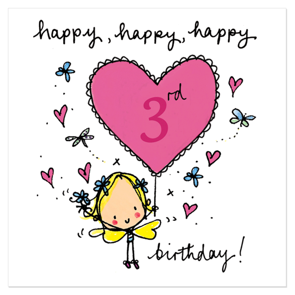 Third Birthday Wishes And Quotes