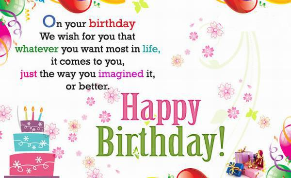 Happy birthday cards images with quotes