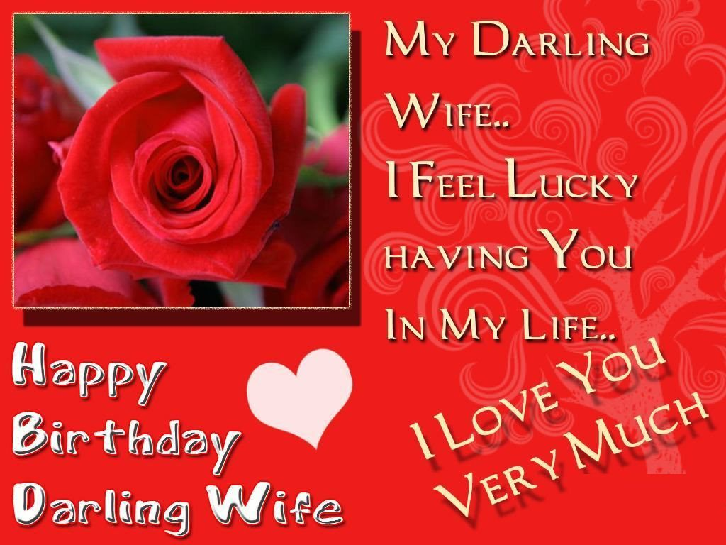 Happy Birthday Wishes For Wife With Images Quotes And Messages