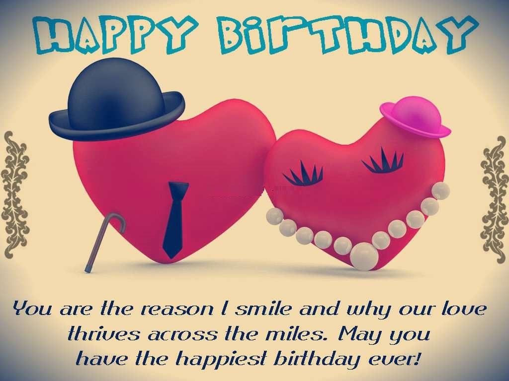 Happy Birthday Wishes for Boyfriend Images, Messages and ...