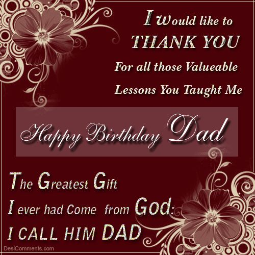 Happy birthday wishes for father father birthday wishes and images happy birthday wishes for father m4hsunfo