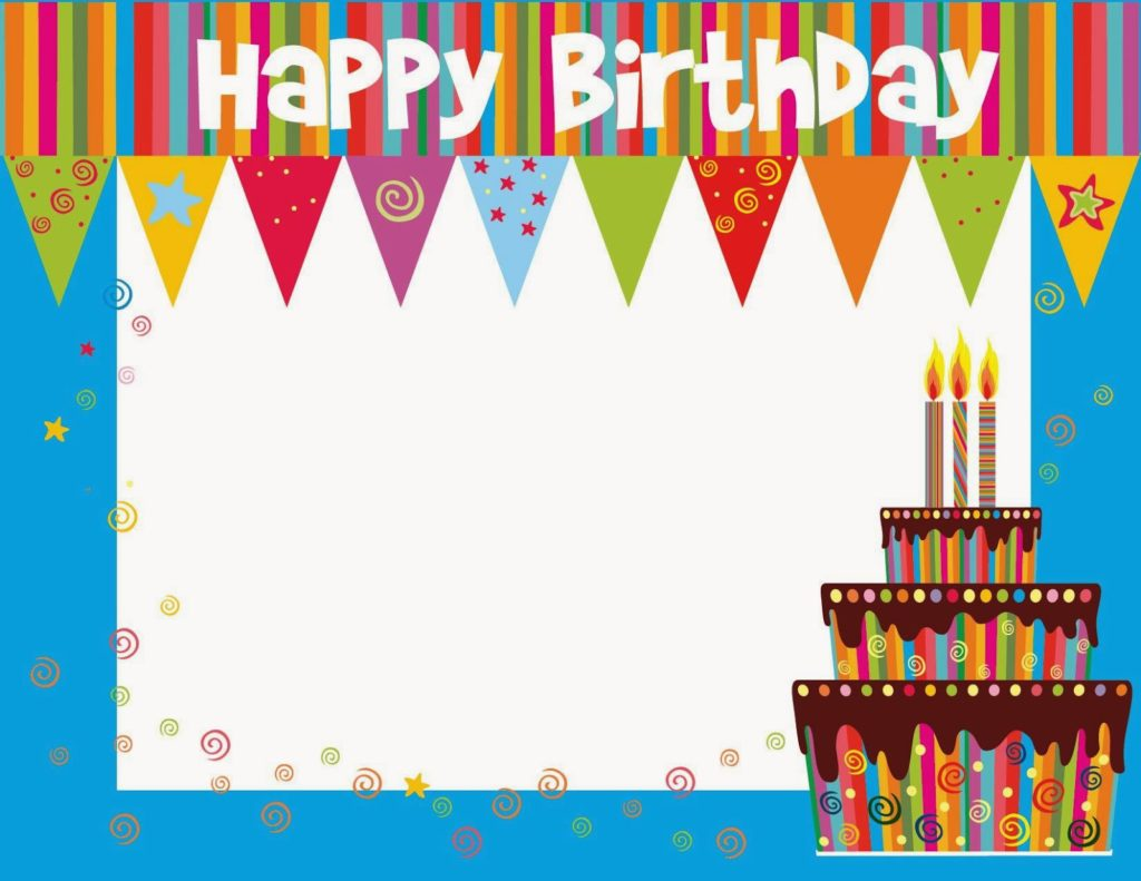 Free Printable Birthday cards ideas - Greeting Card Template