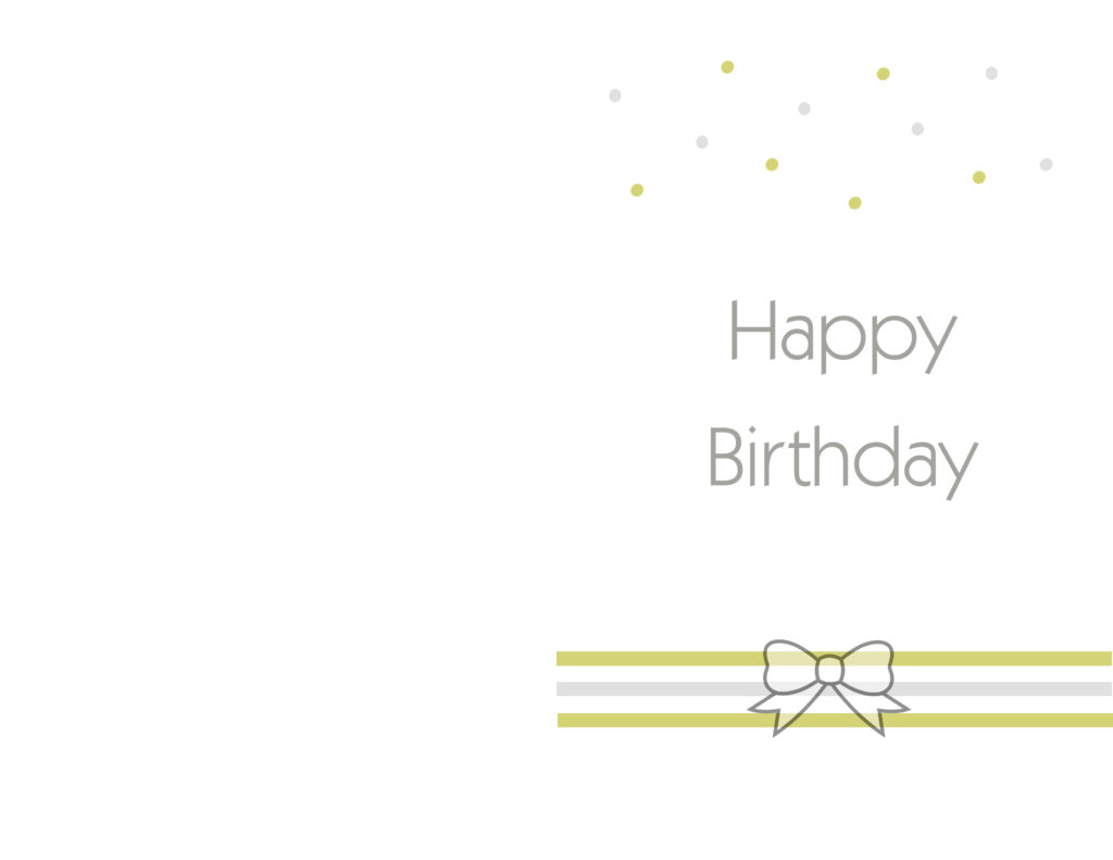 Simple Birthday Cards Printable ~ Free printable birthday cards ideas greeting card template
