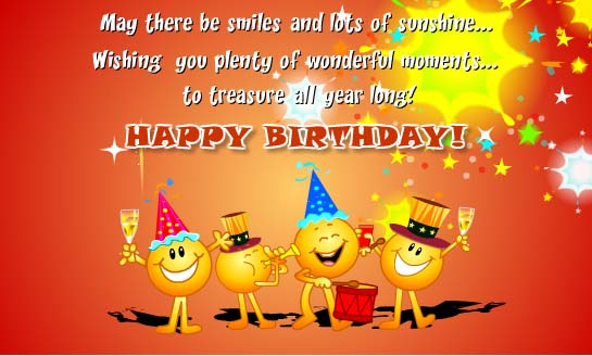 Cards for Birthday Wishes and Greeting and Celebration - Birthday Wishes