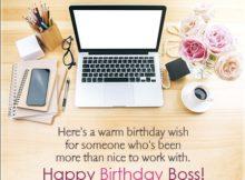Birthday Cards For Boss