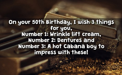 Birthday Wishes For 50th Birthday