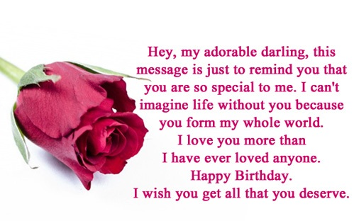 Birthday Wishes For Boyfriend - Birthday Wishes, Quotes