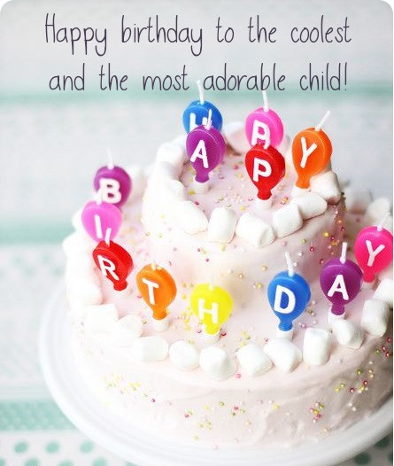 Birthday Wishes For Kids - Birthday Wishes, Messages, Cards
