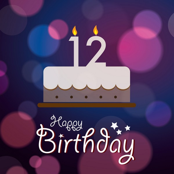 Greetings For 12th Birthday