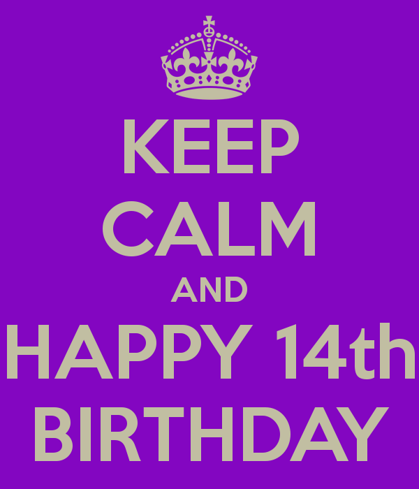 Greetings For 14th Birthday