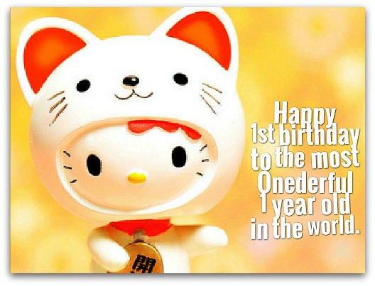 Happy 1st Birthday Sayings