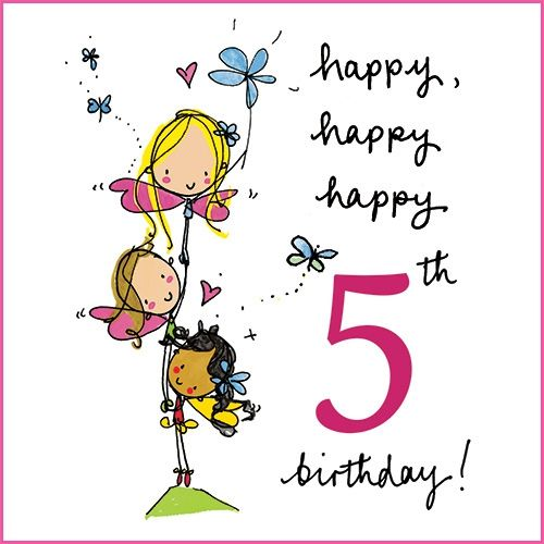 Happy 5th Birthday - Birthday Wishes, Messages, Images, Cards