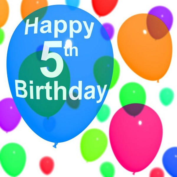 Happy 5th Birthday Greetings