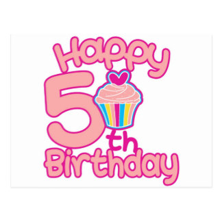 Happy 5th Birthday Wishes