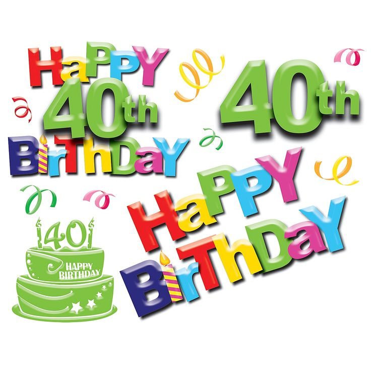 Happy 40th Birthday Quotes And Images