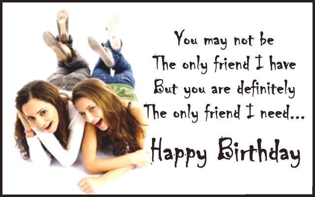 Best Birthday Wishes For Best Friend - Happy Birthday Bestie