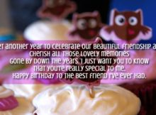 Best Birthday Greetings For Best Friend