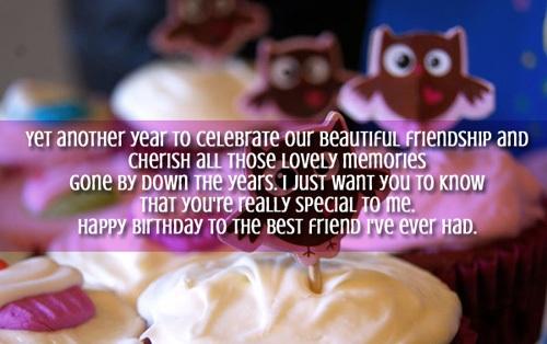 Best Birthday Greetings For Best Friend