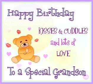 Birthday wishes for grand son happy birthday grand son msg from the day you were born we knew that youd be the most ideal grandson ever thank you for giving us the opportunity to call ourselves proud grandparents m4hsunfo