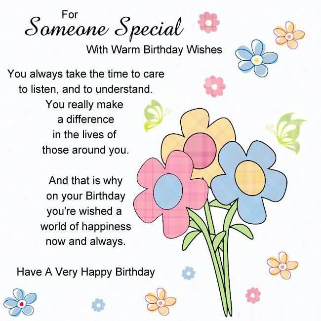 Birthday Cards For Someone Special