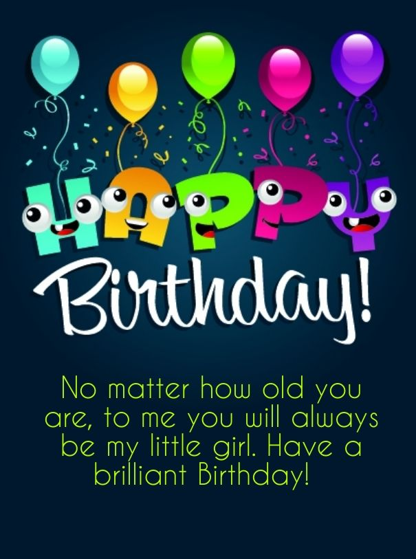 Happy Birthday Daughter Happy Birthday Msg For Your Daughter
