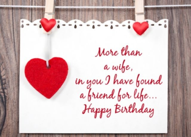 Birthday Wishes For Wife - Happy Birthday Wishes For Wife