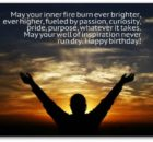 Inspirational Birthday Sayings
