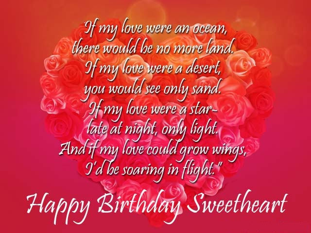 Romantic Birthday Cards