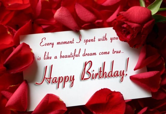 Romantic Birthday Sayings
