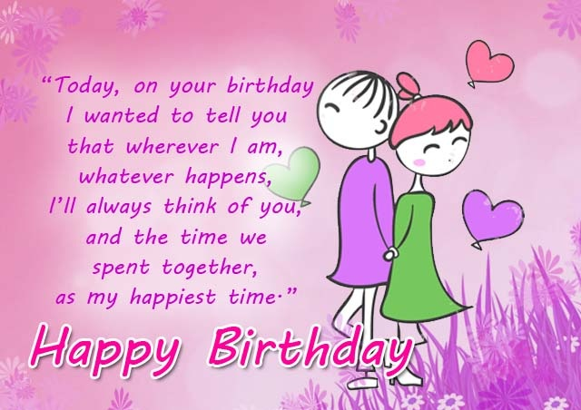 Romantic Birthday Wishes And Greetings- Birthday Cards, Wishes And Images