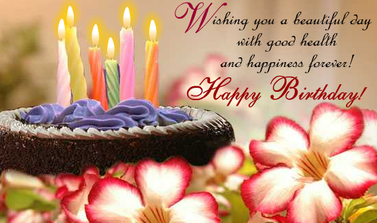 Happy Birthday Wishes And Quotes - Birthday Wishes, Quotes And Greetings