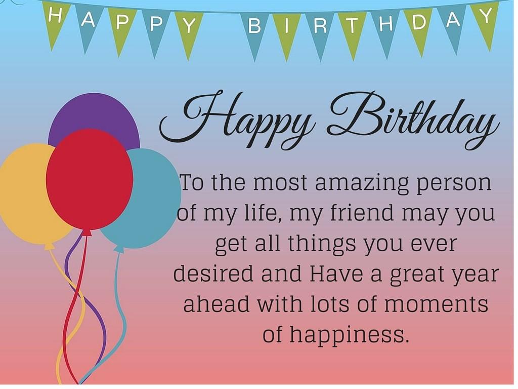 Best Happy Birthday Quotes For Friend - Happy Birthday Friend