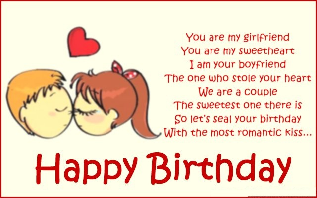 Romantic Birthday Poems For Girlfriend Funny