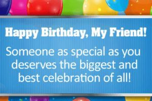 Adorable Birthday Words For Best Friend