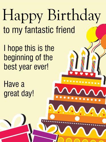 Happy Birthday Friend Wishes