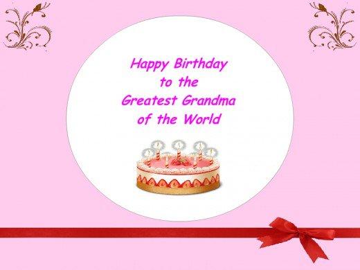 Birthday Cards for Grandma