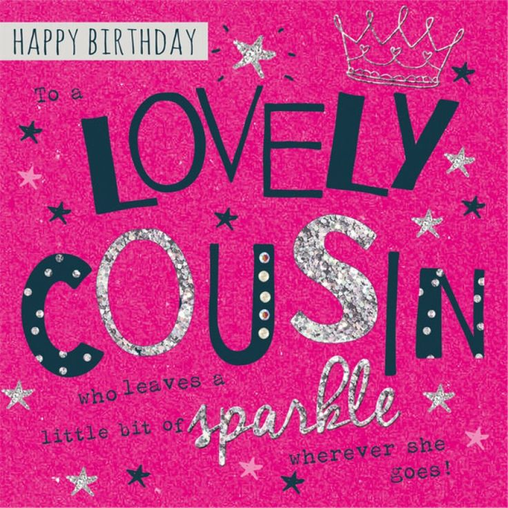 Happy Birthday Cousin Quotes - Cousin Birthday Wishes Images