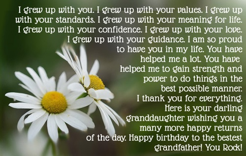 Pleasing Grandpa Birthday Quotes Happy Birthday Grandpa Wishes Personalised Birthday Cards Cominlily Jamesorg