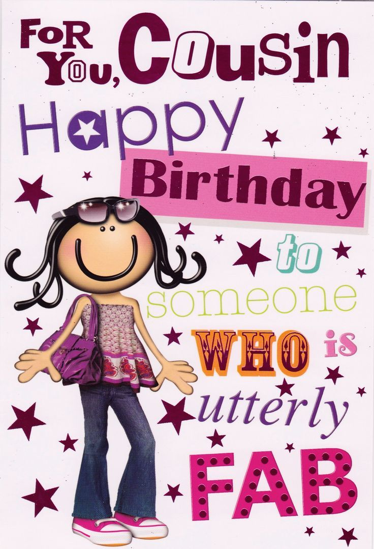 Happy birthday cousin quotes cousin birthday wishes images many birthday greetings are generic so take time be original and truly express how you feel when telling your family member happy birthday m4hsunfo
