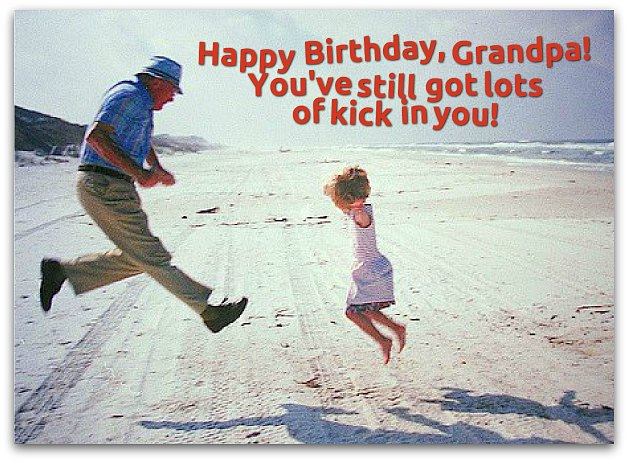 Happy Birthday Grandfather Greetings