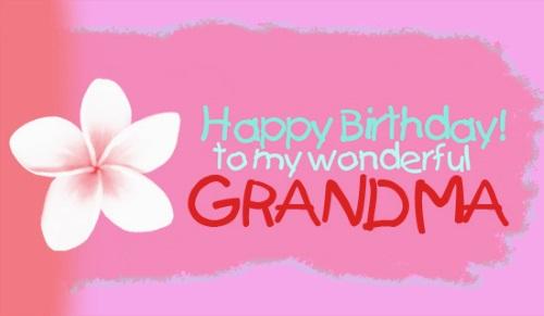 Happy Birthday Granny