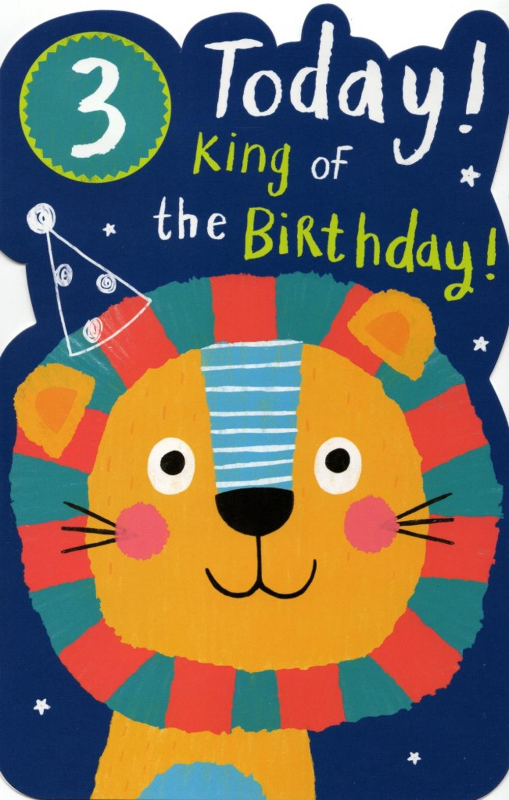 Third Birthday Greeting Cards
