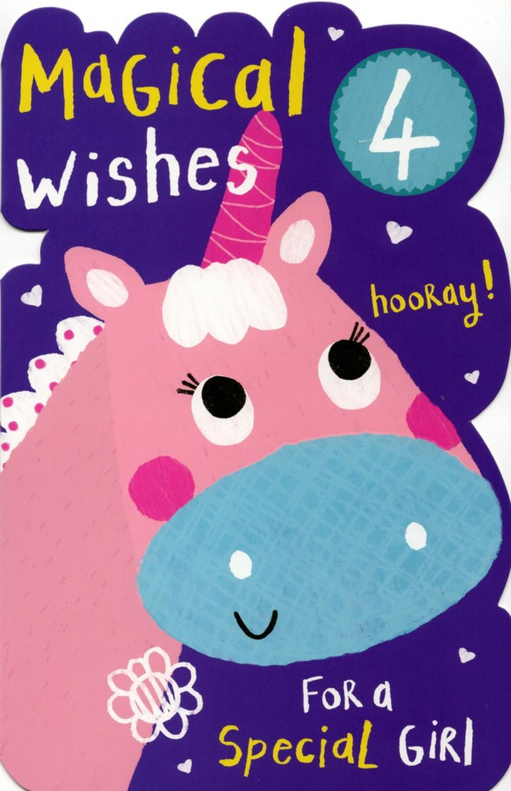 4-year-olds Birthday Wishes Images