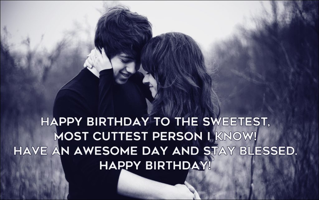 Happy Birthday Wishes To Boyfriend