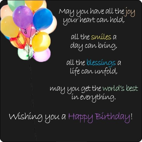 Happy Birthday Messages Quotes